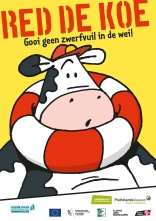 Belgian Save the Cow campaign raises awareness of litter issues