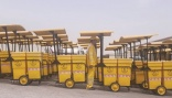 Shaded cleaning trolleys introduced in Qatar