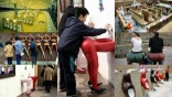Scenes of people using bizarre open-air toilets in China go viral