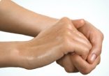 Shorter hand sanitiser use may be more effective