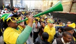 Vuvuzelas face Olympics ban for spreading disease