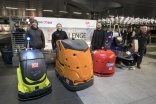 DB hosts 'smart scrubber' robot cleaning competition