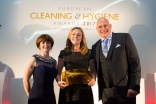European Cleaning & Hygiene Awards 2017 winner - Avril Mc Carthy
