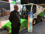 Steambeast tackles the gum problem in parks and cities