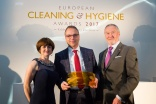 European Cleaning & Hygiene Awards 2017 winner - Jan-Hein Hemke