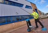 Safer window cleaning