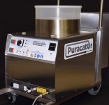 Puracator cleans pipes and drains