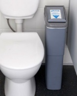 'Sanitary bins in public toilets should be higher priority'