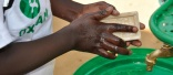 New hand washing stand being trialled for refugees