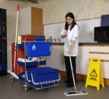 Cleaning up mopping