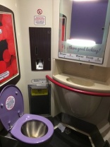 Passenger attempts to flush a bra down the toilet of a Virgin train