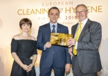 European Cleaning & Hygiene Awards 2018 Winner - Tony Berisha