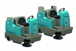 New battery ride-on sweepers from Tennant