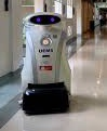 Joke-telling cleaning robot trialled on UK hospital wards