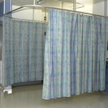 Hospital privacy curtains laden with germs: study