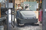Nilfisk-Advance sweepers tackle dust control
