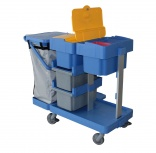 IPC Euromop Antares trolley has closed tray