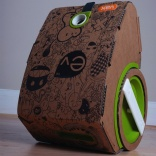 Student designs eco-friendly cardboard vacuum cleaner
