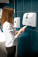 MP Hygiene Evadis dispensers for tiny washrooms