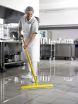 Moerman hygienic squeegeee good for HACCP