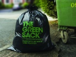 Recycled Green Sack from bpi