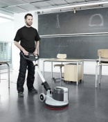 Nilfisk single disk cleans all floor types