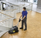 Kärcher polishers for smooth coated floors