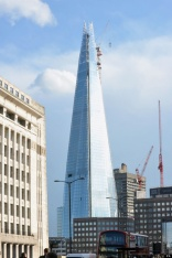 Window cleaner stuck on Shard